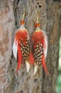 "Earrings ""Foxy"""