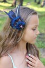 """Hair clip """"Blue Star"""""""