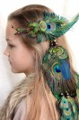 "Feather hair extension ""Bohemian"""