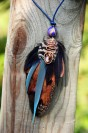 "Shamanic pendant ""Autumn Keeper"""