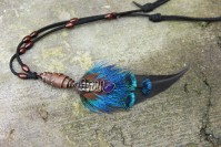 "Shamanic pendant ""Call of the Sea"""